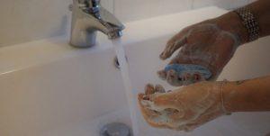 Como lavar as mãos corretamente