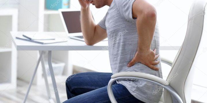 Dor nas costas em tempo de pandemia